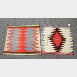 Two Native American Germantown Samplers