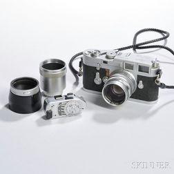 Leica M3 Double Stroke and Midland Summarit Lens