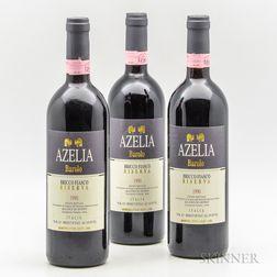 Azelia (Luigi Scavino) Barolo Bricco Fiasco Riserva 1990, 3 bottles