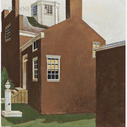 Keith McDaniel (American, 1948-1986)      Upper Main Street