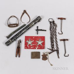 Group of Military and Civilian Related Items