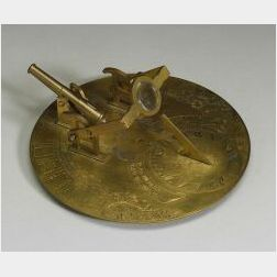 Brass Noon Gun by Abercrombie & Fitch Co.