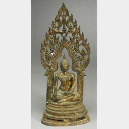 Bronze Figure of a Seated Buddha