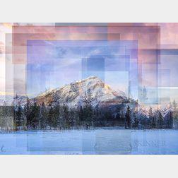 William Van Beckum    Cascade Mountain, Banff, Alberta, Canada