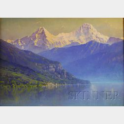 Hezekiah Anthony Dyer (American, 1872-1943)      Lake of Thun