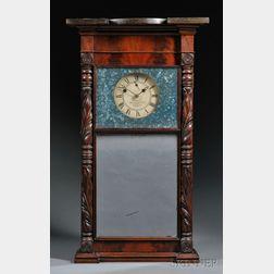Munger & Benedict Mahogany Shelf Clock