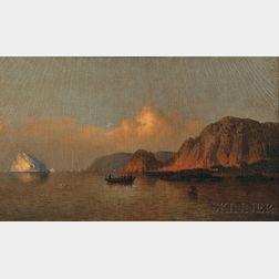 William Bradford (American, 1823-1892)      Fishing Off Labrador