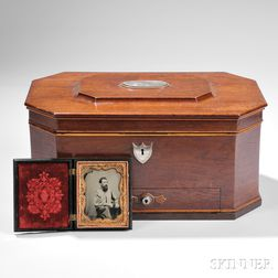 Augustus Romaldus Wright's Toiletry Box and Images
