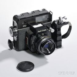 Konica Rapid Omega 100 and Lens