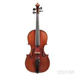 American Violin, David Bailey Rockwell, Boston, 1889