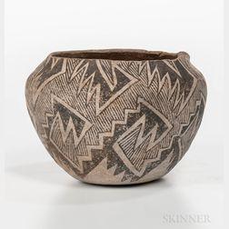 Anasazi Painted Pottery Bowl