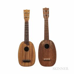 Two Kamaka Pineapple Ukuleles