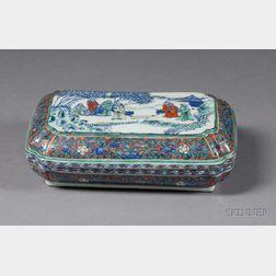 Rectangular Porcelain Box