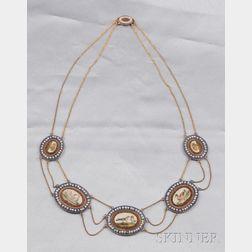 Antique Micromosaic Necklace