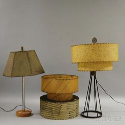 Two Mid-Century Table Lamps