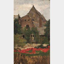 Ellen Day Hale (American, 1855-1940)      Village Church