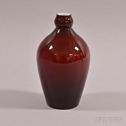 Glass Garlic-head Bottle Vase