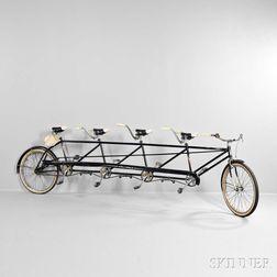 Columbia Four-seat Tandem Bicycle