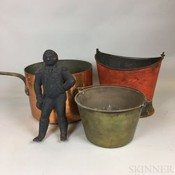 Small Group of Metal Hearth and Domestic Items.