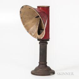 Brass Candlestick Student Lamp