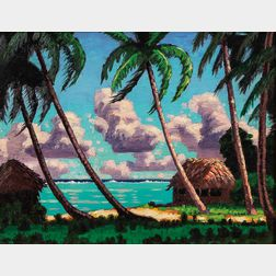 Roy Walter James (American, 1897-1986)      Tahiti