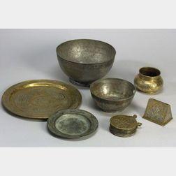 Six Islamic Metal Works