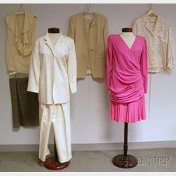 Group of Lady's Escada and Emanuel Ungaro Clothing