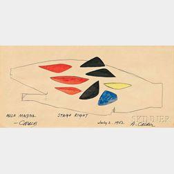 Alexander Calder (American, 1898-1976)      Aula Magna