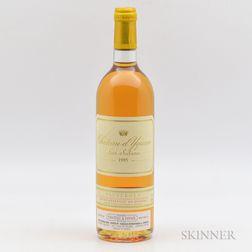 Chateau dYquem 1995, 1 bottle