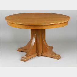 Stickley Brothers Oak Dining Table