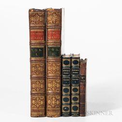 Three English Literary Works.