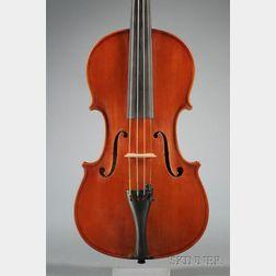 Modern Italian Violin, Alberto Vaccari, Reggio Emilia, 1977