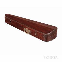 Eastlake-style Mahogany Violin Case, c. 1890