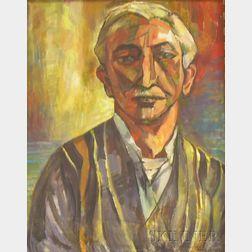 Vera Eugenia Andrus (American, 1896-1979)      Portrait of a Man.