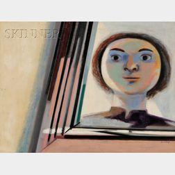 Jan Cox (Belgian, 1919-1980)      Le Miroir