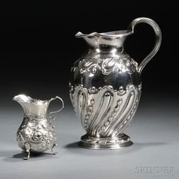 George IV Sterling Silver Pitcher