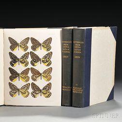 Leech, John Henry (1862-1900) Butterflies from China, Japan, and Corea