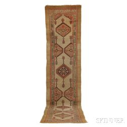 Antique Hamadan Runner