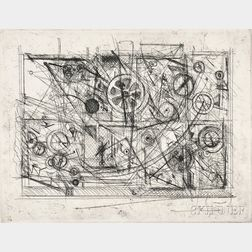 Jean Tinguely (Swiss, 1925-1991)      Metaharmonie III