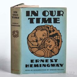 Hemingway, Ernest (1899-1961) In Our Time.