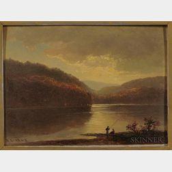 Benjamin Champney (American, 1817-1907)      Horn Pond, Woburn, Massachusetts