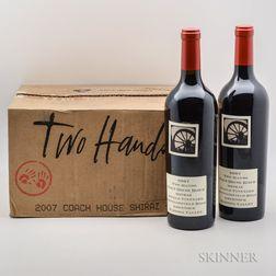 Two Hands Coach House Block Shiraz 2007, 6 bottles (oc)