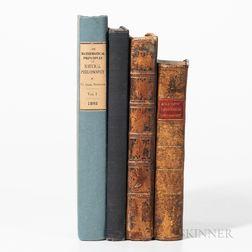 Four Mathematical/Scientific Works.