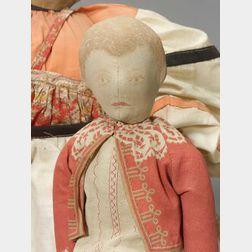 Ida Gutsell Printed and Stuffed Cloth Doll