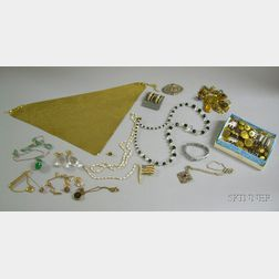 Assorted Costume and Other Jewelry