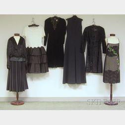 Six Vintage Dresses