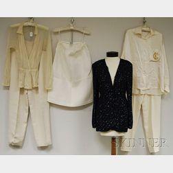 Group of Designer Clothing