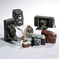 Rolleiflex 2.8D and Other Cameras