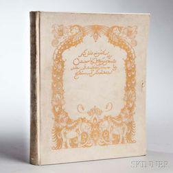 Rubaiyat of Omar Khayyam  , Signed by Edmund Dulac.