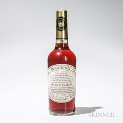 The Presidents Choice 8 Years Old, 1 4/5 quart bottle